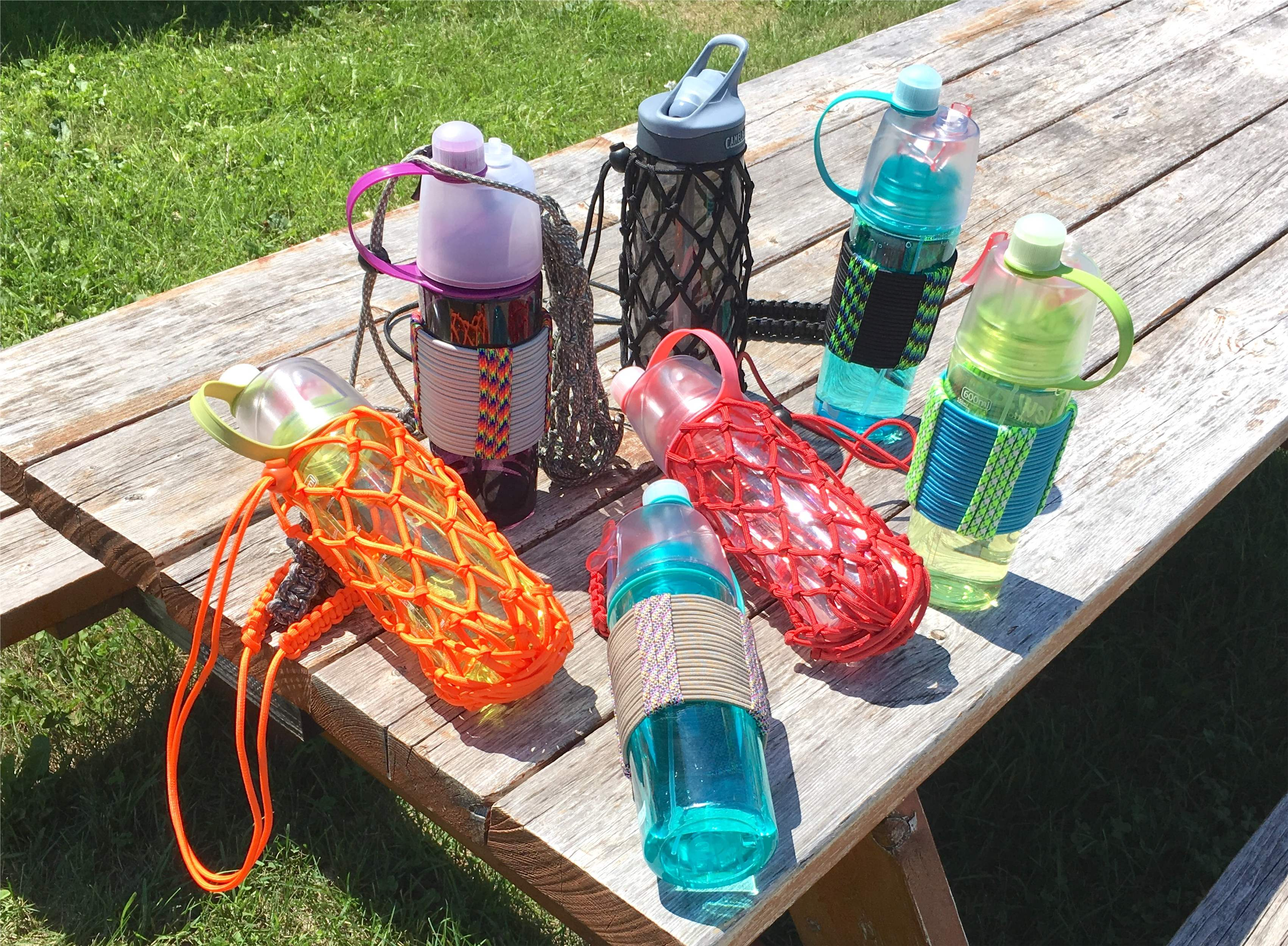Paracord Water Bottle Sling