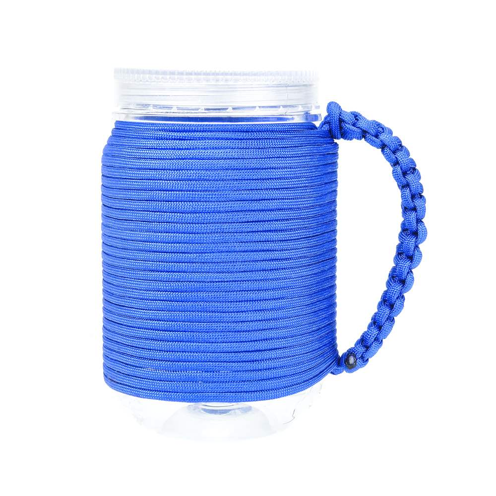 Blue Paracord Cup Handle