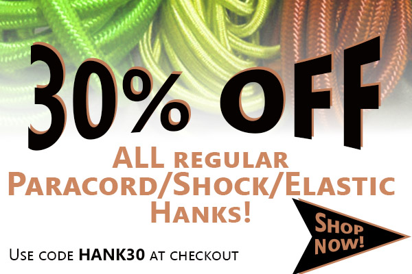 Shock and Paracord Sale